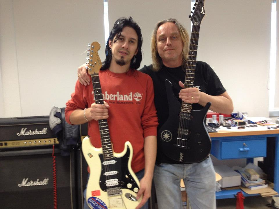 Mats Hedberg official Vignoni pickups endorser
