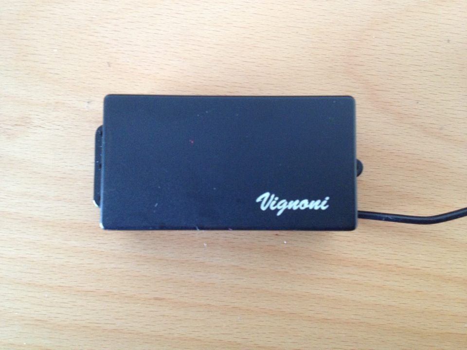 humbucker nero cover black